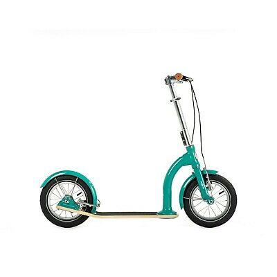 Premium Big Wheel Kids Scooter 7-12 yo | SwiftyIXI | Swifty Scooters | AquaGreen