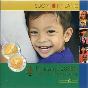 SÉRIE EURO BRILLANT UNIVERSEL (BU) - FINLANDE 2008 II