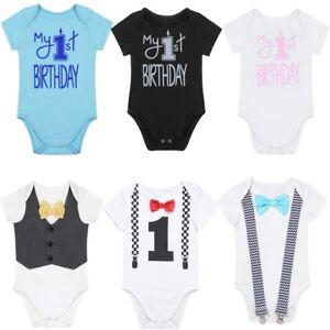 449ed9b2d0c0 Newborn Infant Baby Boys Romper Jumpsuit Bodysuit Summer Clothes ...