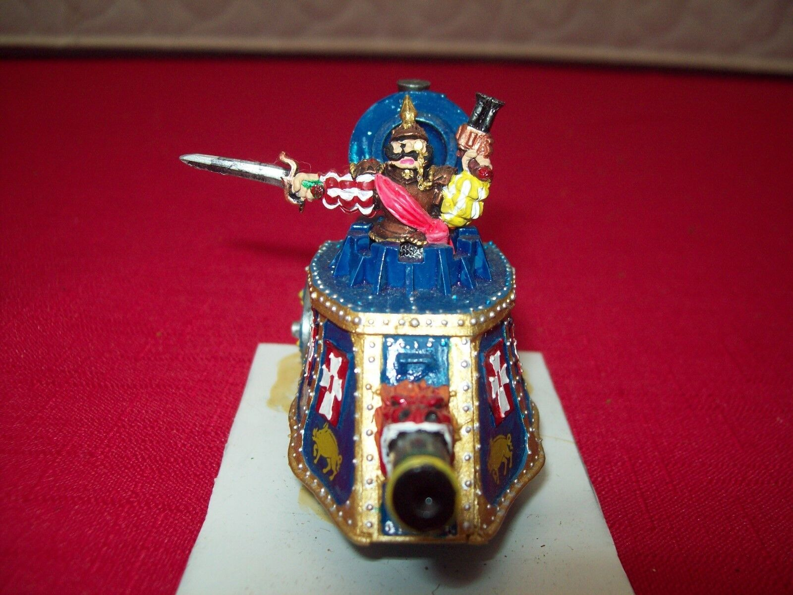 tienda Tanque de vapor warhammer imperio Imperial-Bien pintados () () () -  edición limitada en caliente