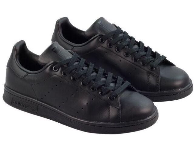 buy online 4dc45 87a9a adidas Originals Stan Smith Shoes Trainers Black M20327 8   eBay