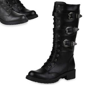 eBay link) TOP Stiefeletten Damenschuhe Schnürstiefel Boots