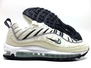 NIKE AIR MAX 98 SAIL IGLOO-FOSSIL SIZE WOMEN S 9  AH6799-105 ... b578567b5