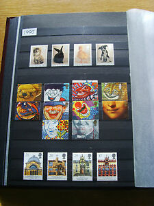 'GB STAMPS - 1990 - COMMEMORATIVE ISSUES' - MNH/USED
