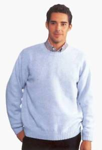JOCKEY-Pullover-runder-Ausschnitt-Farbe-jedoch-dunkelblau-100-Schurwolle