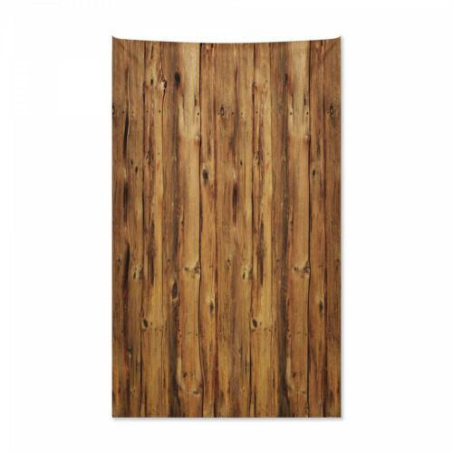 Holzwald Bäume Kunst Druck Bauholz Wandteppich und Tagesdecke