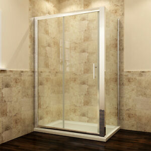 Sliding-Shower-Enclosure-And-Tray-amp-Waste-Door-Side-Panel-safety-glass