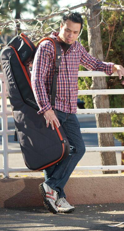 Gruv Gear Gig Blade 335 Electric Guitar Gig Bag - Charcoal Farbe
