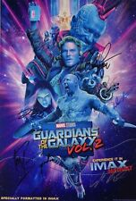 GUARDIANS OF THE GALAXY; VOL 2  Movie PHOTO Print POSTER Cast B/&W Textless 007