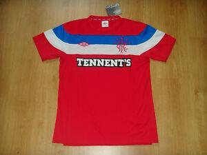 Glasgow Rangers Soccer Jersey Scotland Top Football Shirt Maglia Red Trikot NEW
