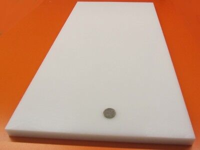 "Sheet White HDPE .625/"" 5//8/"" Polyethylene Thick x 12/"" Wide x 48/"" Long"