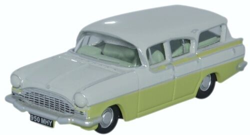 Oxford 76cfe006 00 auto Vauxhall Friary Estate Swan White//Lime Yellow