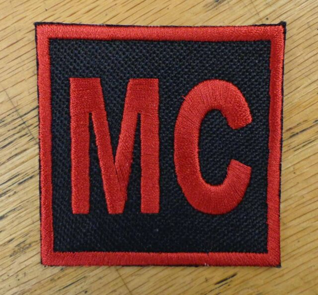 CUSTOM EMBROIDERED PATCH CUBE STATE CLUB PATCH MADE IN USA