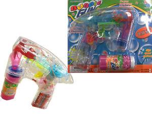 10 stück Seifenblasenpi<wbr/>stole  mit 2 Flaschen und LED