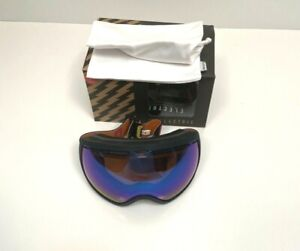 Electric Ski Snowboard Snow Goggles Men Retro Wordmark EG2 Blue Chrome $160 NEW