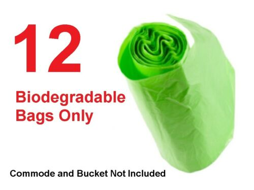 Portable Emergency Composting Biodegradable Bags Only for Outwell 7L Toilet