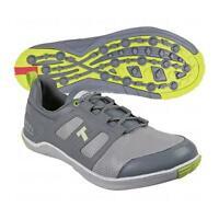 True Linkswear Lyt Dry Mens Size- 7 Grey & Lime Golf Shoes