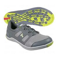 True Linkswear Lyt Dry Mens Size- 7 Grey & Lime Golf Shoes