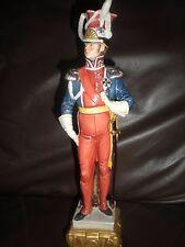 Capodimonte Porcelain napoleonic soldier - bruno merli