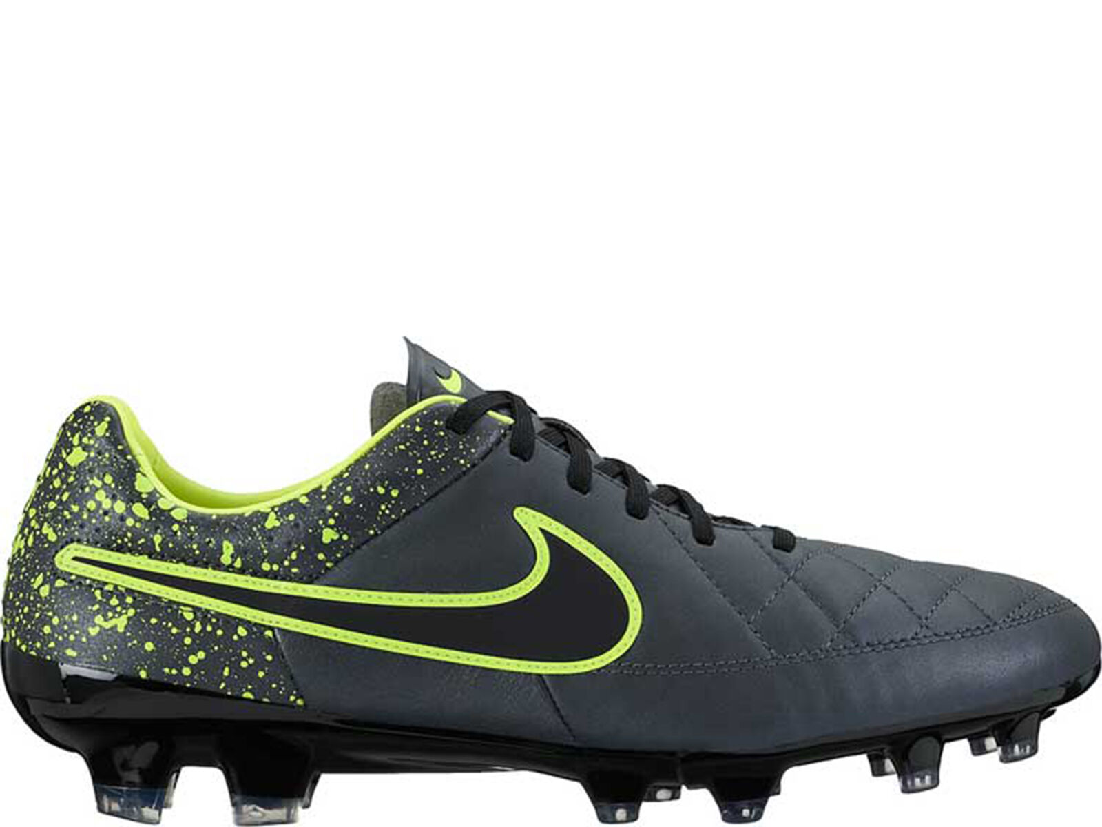 Brand New Nike Tiempo Legacy FG Men's Athletic Fashion Sneakers [631521 007]