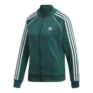 Suministro Huelga software  adidas Women's Originals SST Track Jacket: Green/White - DV2642 | eBay
