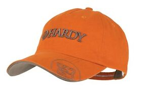 Hardy Classic Fishing Cap Pumpkin with Gold Trim C&F 3D Trout and Salmon Hat