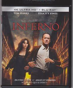 INFERNO 4K (Tom Hanks, Felicity Jones, Omar Sy, Irrfan Khan, Sidse Babett Knudse