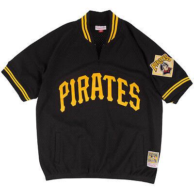Sport Ausdauernd Mitchell & Ness Pittsburgh Pirates Mlb Authentisch 1/4 Reißverschluss 1991 Bp SchöNer Auftritt Baseball & Softball