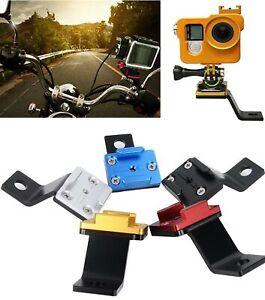 Rückspiegelhalterung für GoPro Sportkamera Motorrad Montage Halte CNC Aluminium