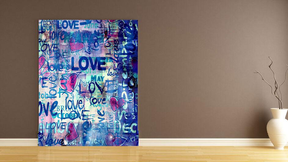 3D Liebe buchstaben 43266 Fototapeten Wandbild Fototapete BildTapete Familie