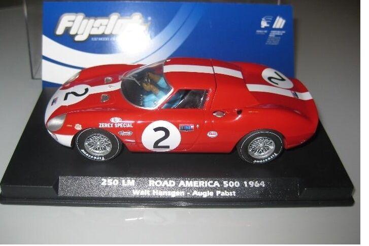 Flyslot Ref. 053109 Ferrari 250 LM ROAD AMERICA 500 1964 New New 1 32
