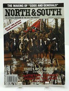 North-amp-South-Civil-War-Society-Magazine-140th-Antietam-Comm-Issue-2002-NEW-OS