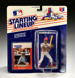 Kenner Starting Lineup 1988 Kal Daniels Baseball Cincinnati Reds ROOKIE