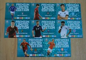 Panini-Adrenalyn-XL-Uefa-Euro-EM-2020-8x-Premium-Limited-Edition-Set