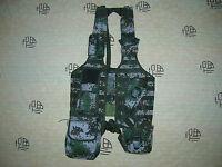 07's series China PLA Army Woodland Digital Camo Combat Tactical Vest,Set,F