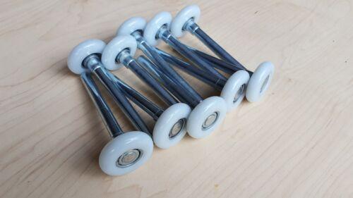 """100ea 2/"""" Nylon 11 Bearing Garage Door Roller 4/"""" Stem"""