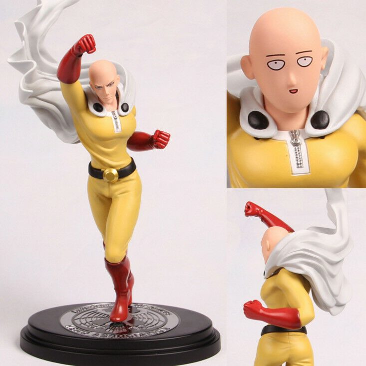 One Punch Man FLYING PVC anime figure figures toys  QT814 doll NEW