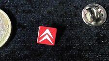 Citroen Pin Badge Logo Emblem rot weiss klein