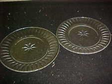 Stuart Crystal CLARIDGE Salad Plates (2)
