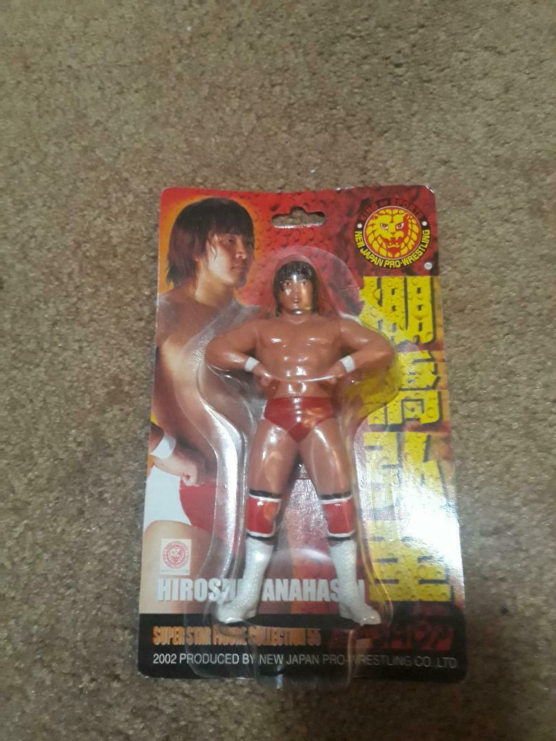 CharaPro Japanese Wrestling Hiroshi  Tanahashi  55 Hasbro nuovo Japan  acquista online oggi