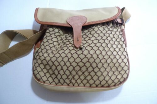 LiddesdaleCotton Uk Trim Front In With Bag Leather Pocket Canvas netted made Onw80XNPkZ