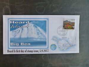 2017-HEARD-ISLAND-BIG-BEN-STAMP-ISSUE-FDC-FIRST-DAY-COVER