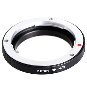 Adaptateur-Kipon-pour-Objectifs-en-monture-Olympus-OM-sur-boitier-Four-Thirds