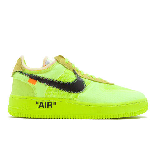 Size 9 - Nike Air Force 1 Low x OFF-WHITE Volt 2018 for sale ...