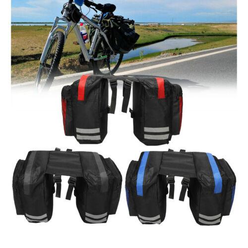 30L  Bike Frame Pannier Rear Rack Seat Trunk Saddle Bag Waterproof