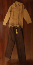 Army Military Halloween Costume Brown Men's Size Medium M?