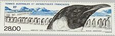 TAAF FSAT 1994 Maury Air 133 328 C132 Arrival Emperor Penguins Fauna Pinguin MNH