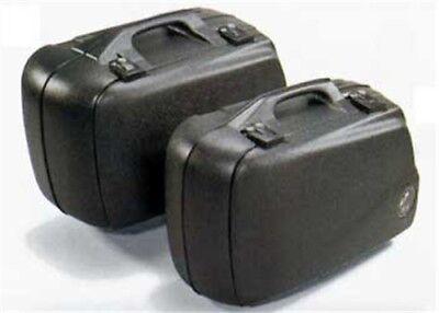 paar Koffersatz Seitenkoffer Hepco /& Becker Junior 30 Farbe:schwarz