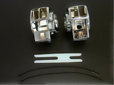 Aluminum Switch Housing Cover for HARLEY Electra Glide FLHT Street Glide FLHX