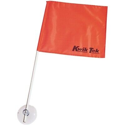 Airhead SAF-1 Stick-A-Flag Skier Down Flag Square Flag with 2ft Pole
